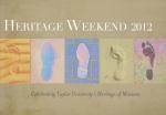 Heritage Weekend 2012