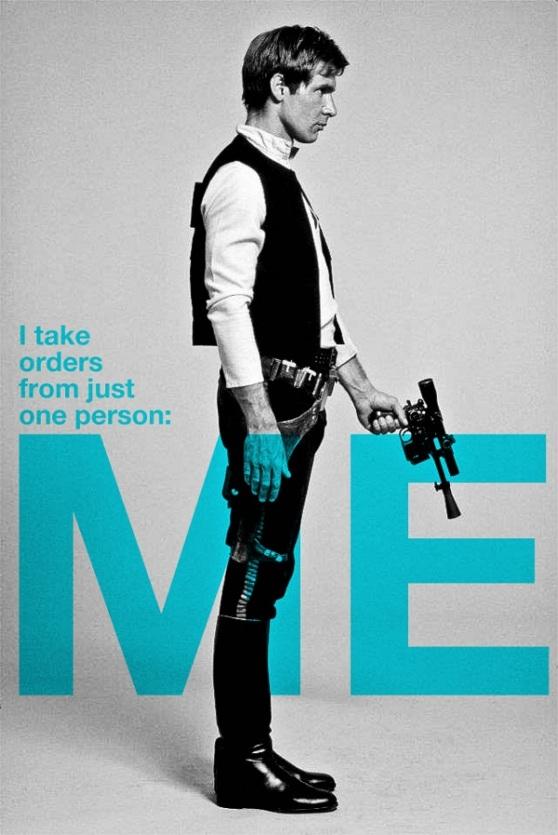 Han Solo poster by Armando Medina