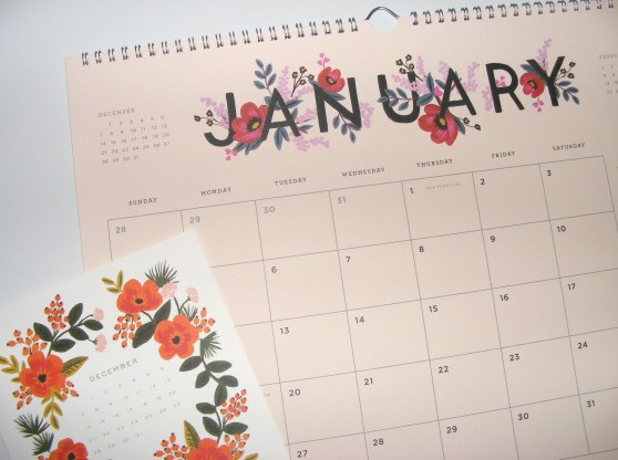Rifle Paper Co. calendars | Happy 2015