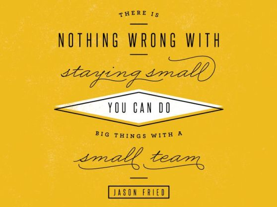 staying small | Kelsey Mitchener Editing Services