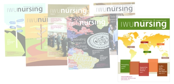 iwu-school-of-nursing-magazine-covers