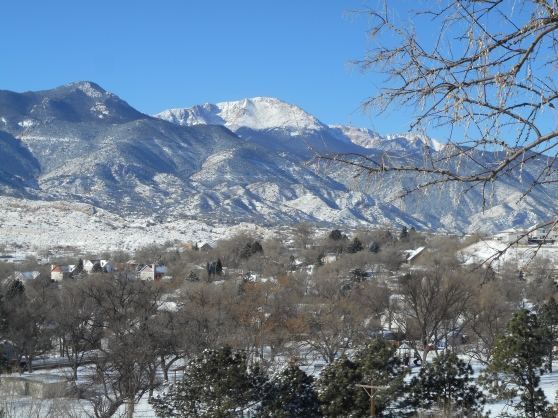 winter in Colorado Springs
