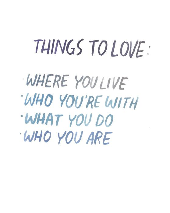 Things to Love | Dallas Clayton